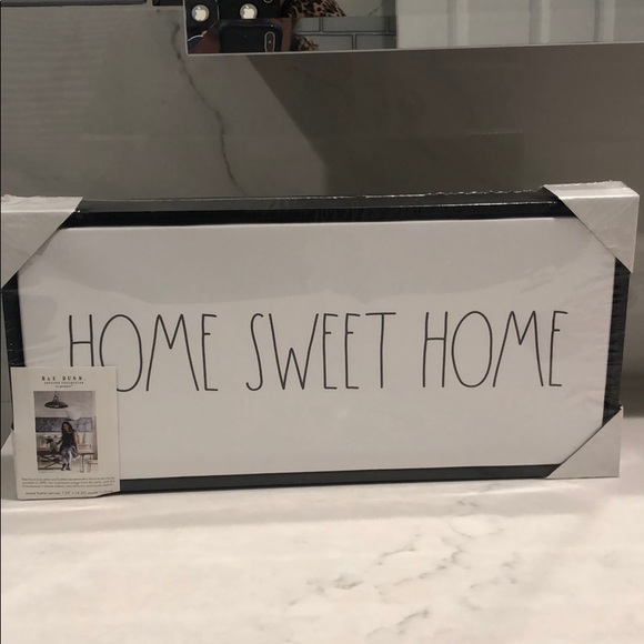 Rae Dunn Home Sweet Home sign